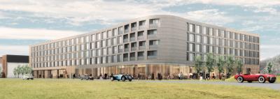 Huge hotel approved at former RAF Bicester site