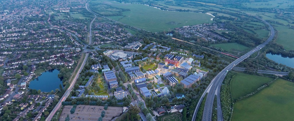 Huge Oxford North scheme unveiled