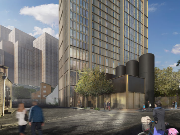 204 student flats and 'energy centre' planned for Woking