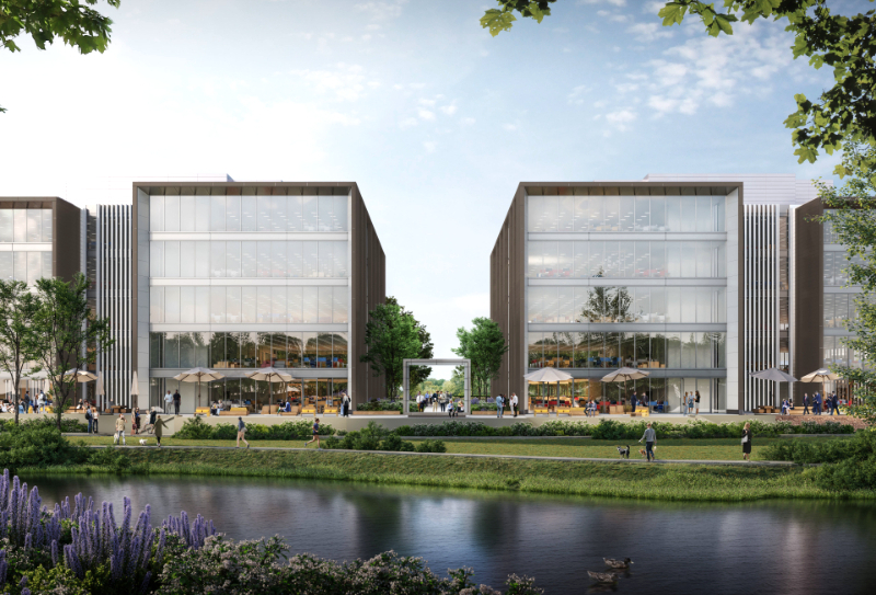 Major new speculative office scheme for Green Park