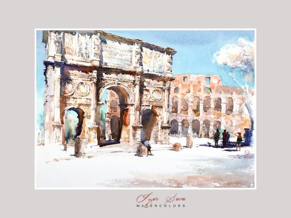 Arco di Costantino, Rome