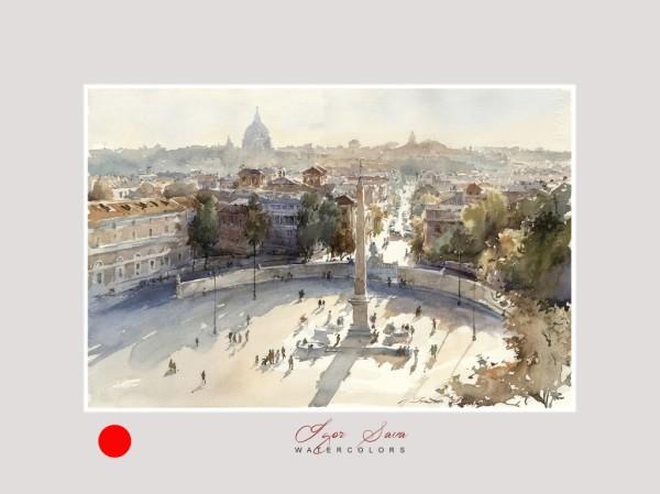 Popolo square, Rome