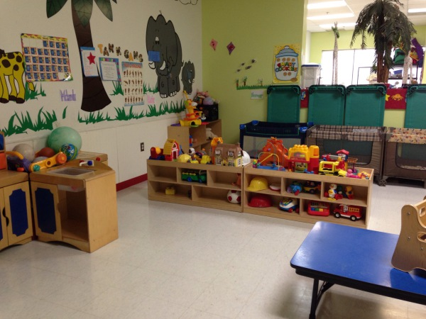 12-24 month indoor play area