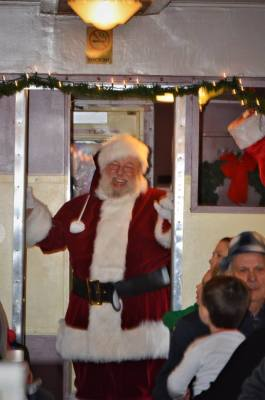 BELLOWS FALLS SANTA TRAIN