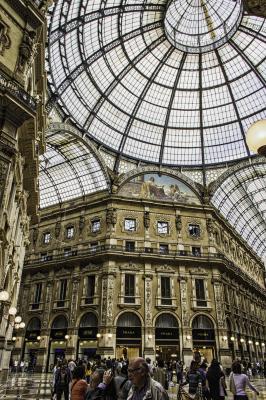 Milan Galleria Vittorio Emmanuele II - Linda Knox