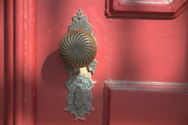 RED DOOR KNOB - Mike Smeltzer