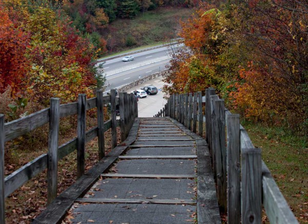Assignment - Stairway to the Parking Lot - Dale Wood