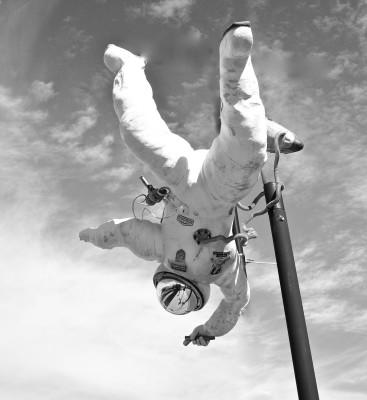 B&W - Spaceman - Marilyn Brinker