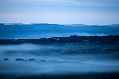 Color - Fog in the Valley - Dale Wood
