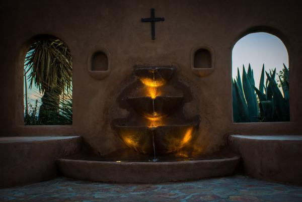 Assignment - Fountain at Dusk - Sandy Gilbert