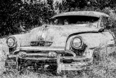 B&W - Old Car - David Goodge