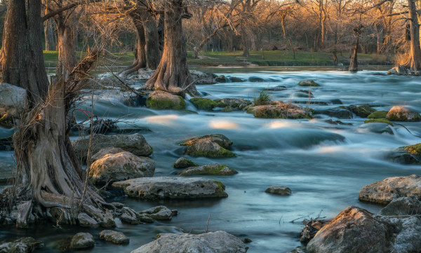 Assignment - Sunset on the Guadalupe - Ralph Nordenhold