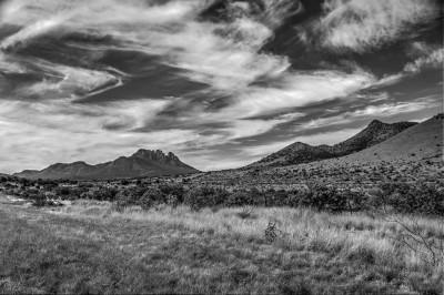 B&W - Davis Mountains - Mary Hulett