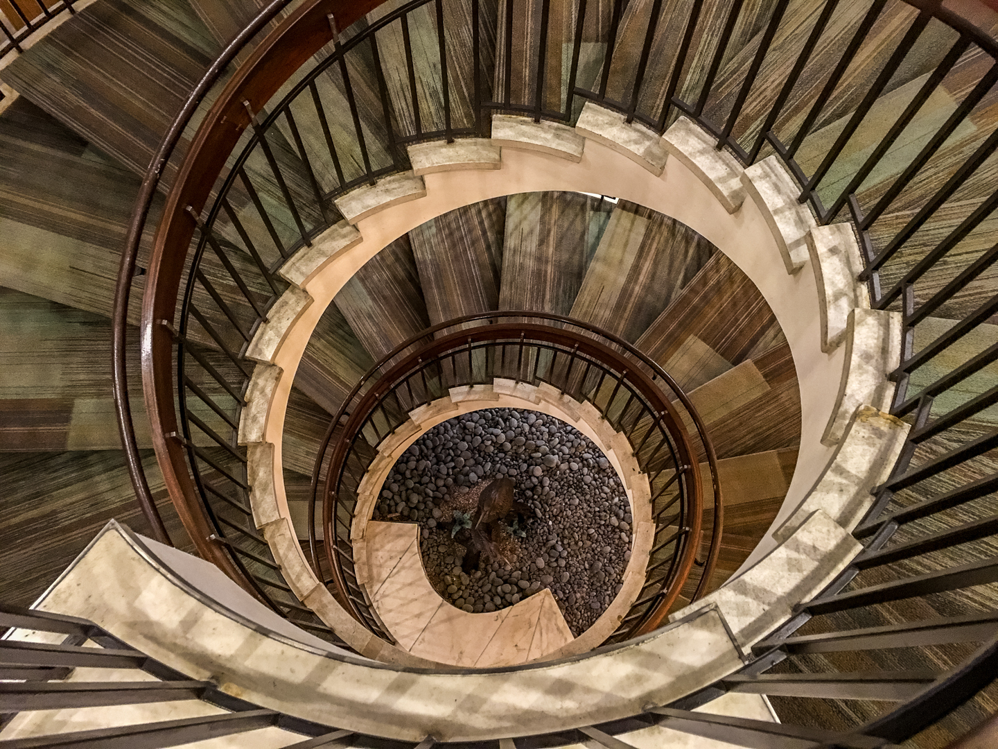 Assignment - Spiral Staircase -Mary Hulett