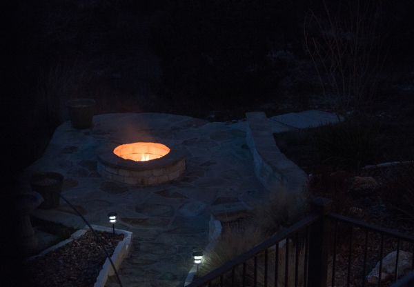 Assignment - Lonely Fire Pit - Dale Wood