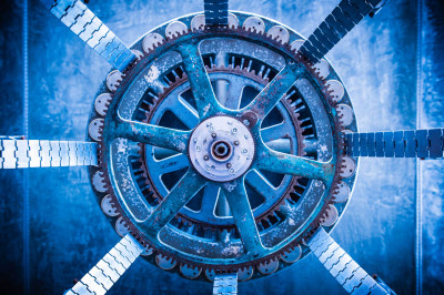 Color - Grinding Gears in the Blue - Allen Skiles