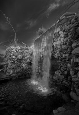 B&W - Cooling Falls - Ralph Nordenhold
