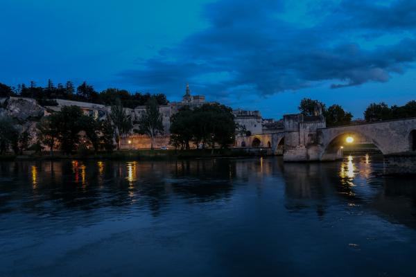 Assign - River Village at Night - Homer Gilbert