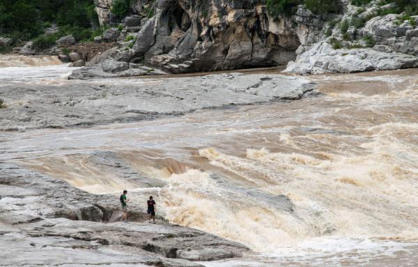 Assignment - Pedernales Falls After the Rain - Sandy Gilbert