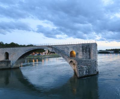 Color - Ancient Bridge - Homer Gilbert