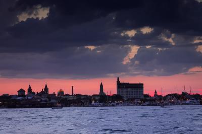 Color - St. Augustine Sunset - Homer Gilbert