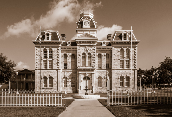 """1882 Courthouse"" Sandy Gilbert"