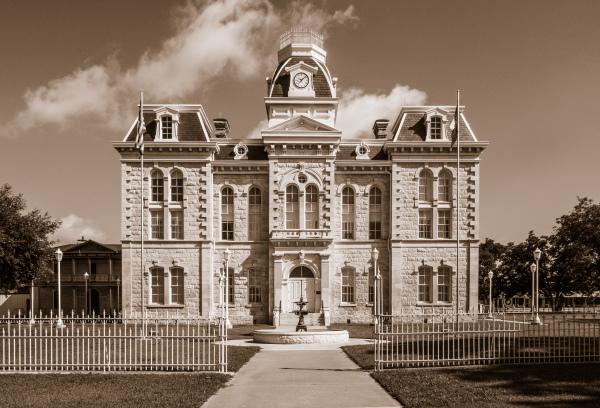 """""""1882 Courthouse"""" Sandy Gilbert"""