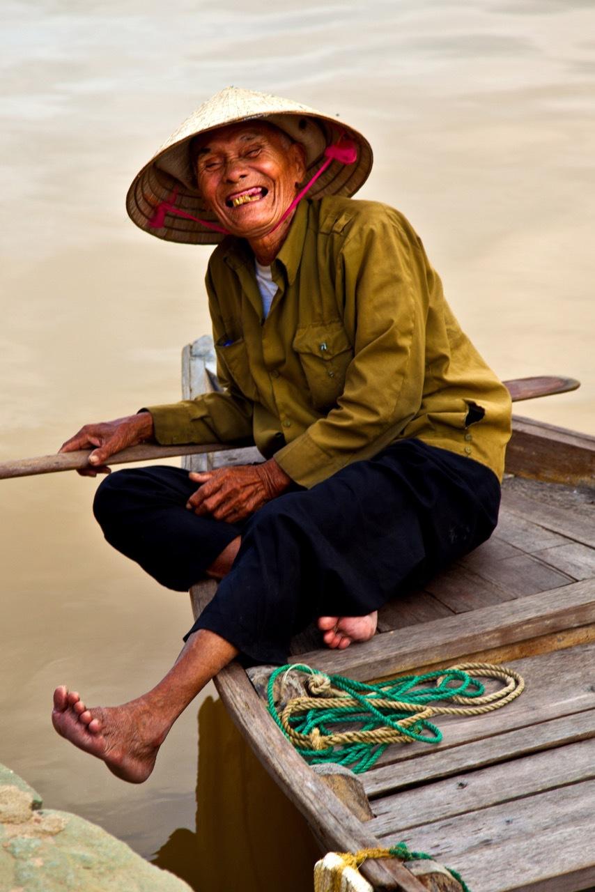 """""""Vietamese Boatman"""" Dennis Deeny"""