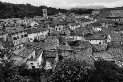 Village Rooftops - Homer Gilbert