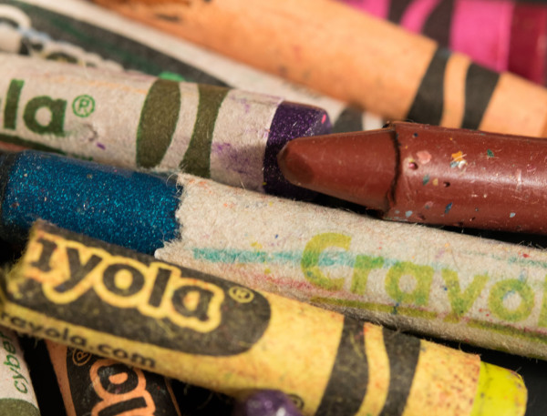 """BROKEN CRAYONS"" Sandy Gilbert"