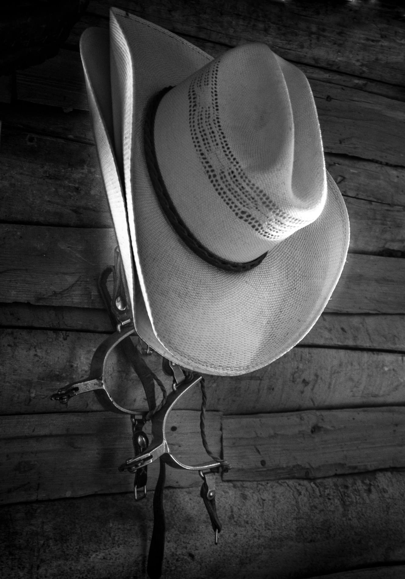 """""""HAT and SPURS"""" Mary Hulett"""