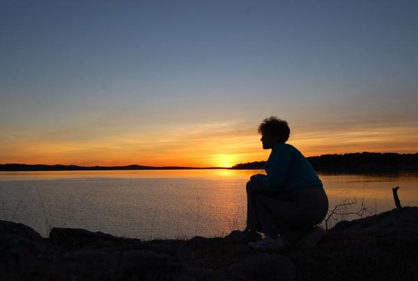 """Sunrise Silhouette"" - Marilyn Brinker"
