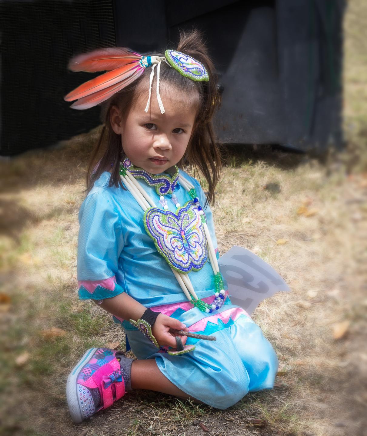 """""""Indian Girl"""" - M Hulett"""