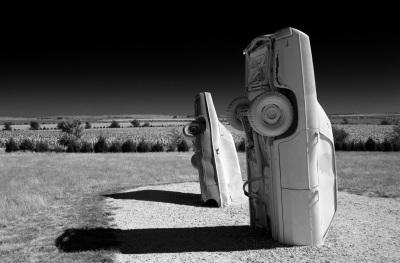 """""""Carhenge"""" - David Goodge"""