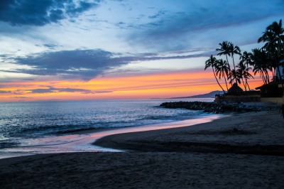 """Puerto Vallarta Sunset"" - Sandy Gilbert"