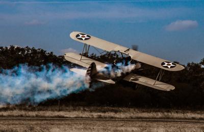 """Smokin Bi-Plane"" - David Goodge"