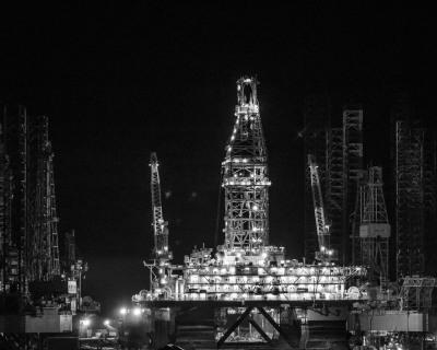 """Galveston Harbor"" - Ralph Nordenhold"