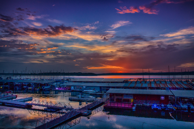 """Canyon Lake Marina Sunset""  - Andrea Garza"