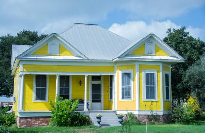 """Yellow House"" - Homer Gilbert"