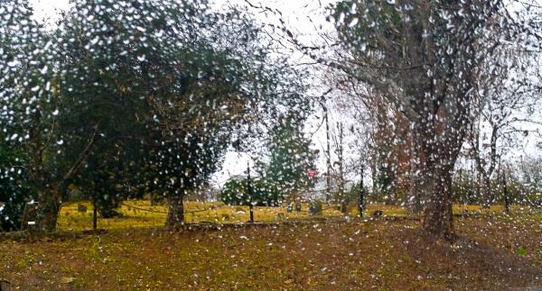 """Rain in the Gravyard"" - Cathy Goodge"