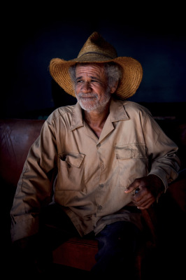 """Cuban Farmer"" - Dennis Deeny"