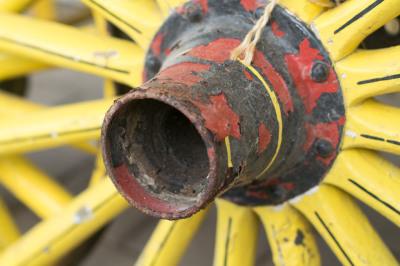 """Yellow Wheel"" - Sandy Gilbert"