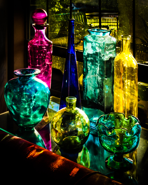 """Colored Glass"" - Bruce Williams"