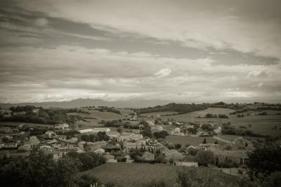 """Village & Vineyards"" - Homer Gilbert"