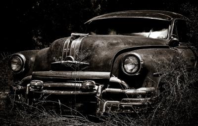 """Old Car"" - David Goodge"