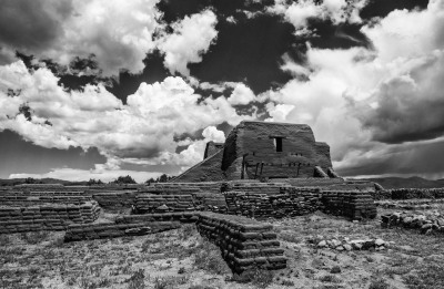 """Mission Church, Pecos Pueblo"" - Sandy Gilbert"