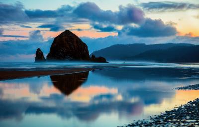 """""""Haystack Rock, Canon Beach, OR"""" - Dennis Deeny"""