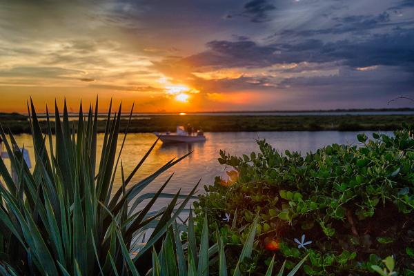 """""""Port Aransas Bay"""" - Andrea Garza"""