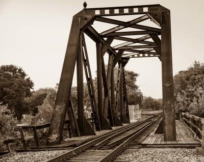 """Railroad Trestle"" - Homer Gilbert"