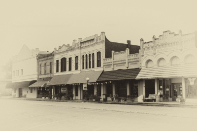 """Downtown Smithville"" - Sandy Gilbert"